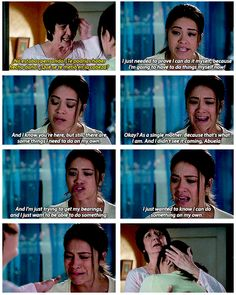 """The Villanueva family's just so beautiful and complex, like this time when Jane broke down over her fear and loss. 