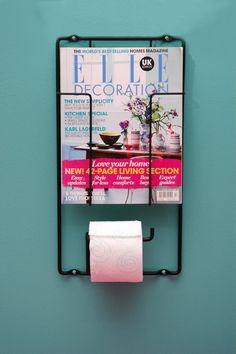 Roll-Mag   Magazine rack & toiletroll holder   Black #puhlmann #capventure #dutchdesign #product #BoxtelBuijs #rack #holder #RollMag