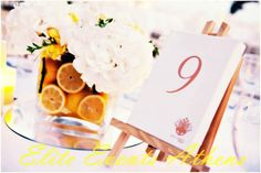 TRUE WEDDINGS | A Lemon Wedding by Elite Events Athens | Anca & Konstantinos | Wedding Tales - Ο γάμος των ονείρων σας! Athens, Lemon, Place Card Holders, Tableware, Sweet, Party, Wedding Things, Events, Candy