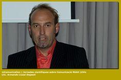 Lic. Armando Liussi en las Jornadas Cientificas sobre Comunicacion Móvil
