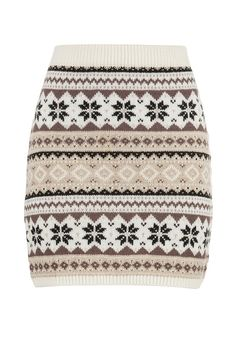 Fair isle sweater skirt from maurices
