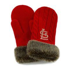 St. Louis Cardinals Women's Red '47 Brand Showtime Mittens