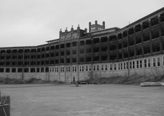 """Waverly Hills Sanatorium in Louisville, Kentucky.   An old TB hospital built for the worst of the """"white plague"""" epidemic.   Super Spooky!  I so want to do a night tour sometime....Someday..."""