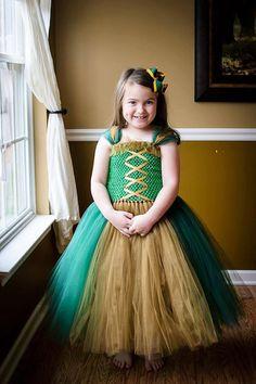 Merida Brave Tutu Dress
