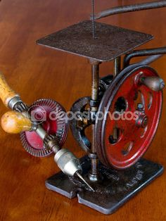 Vintage American Made Woodworking Tools — Stock Image #63114783