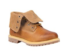 Women's Timberland Authentics Suede Roll-Top Boots - Timberland