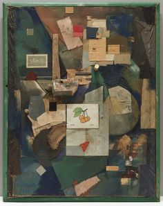 © 2006 Kurt Schwitters / Artists Rights Society (ARS), New York / VG Bild-Kunst, Bonn merz pictures 32 a. the cherry picture Kurt Schwitters, Art Du Collage, Collage Artists, Dada Collage, Collages, Hannah Höch, Dada Art Movement, Hans Richter, Francis Picabia
