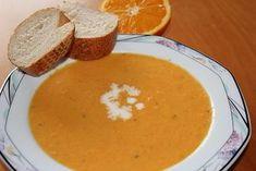 Möhren - Orangen - Ingwer- Suppe, ein tolles Rezept aus der Kategorie Gemüse. Bewertungen: 37. Durchschnitt: Ø 4,4.