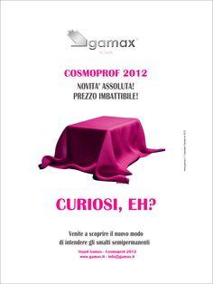 Pubblicita Nail Pro 2012.   NOVITA' ASSOLUTA! PREZZO IMBATTIBILE! CURIOSI, EH?  Venite a scoprire il nuovo modo  di intendere gli smalti semipermanenti...