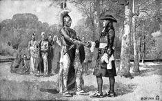 William Penn and the Lenni Lenape Indian Chief