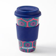 Cute Feminine Tall Microwavable Coffee Mugs With Lid