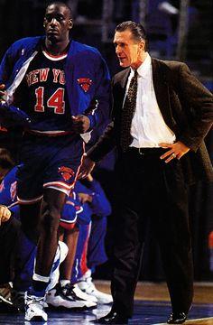 At my signal, unleash hell. Anthony Mason, Pat Riley, New York Knicks.
