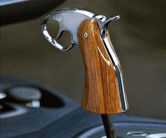 What about a shotgun for my Jeep? Pistol grip shifter why not.) I want one for the Jeep! But I want one of a Colt 4x4 Trucks, Cool Trucks, Cool Cars, Cars Vintage, Automobile, Buggy, Truck Accessories, Car Parts, Supercars