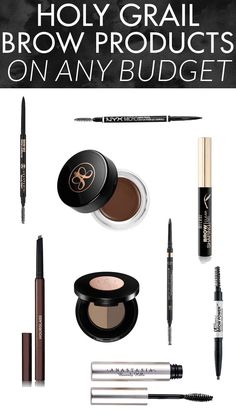 Eyebrow Tutorial Holy Grail Eyebrow Products on Any Budget - amazing drugstore and high end picks!Holy Grail Eyebrow Products on Any Budget - amazing drugstore and high end picks! Natural Eyebrow Tutorial, Eyebrow Tutorial For Beginners, Makeup For Beginners, Plucking Eyebrows, Tweezing Eyebrows, Threading Eyebrows, Face Threading, Microblading Eyebrows, Eyeliner
