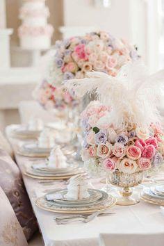 PARISIAN PRINCESS: PINK WEDDING INSPIRATION   Elegant Wedding