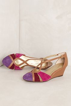 jessica wedge by #anthropologie, want!