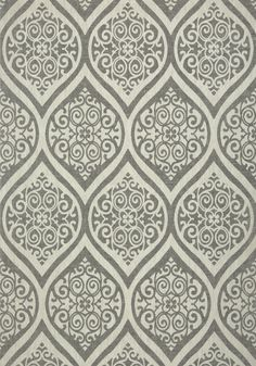 TANGIERS, Black on Off White, T89149, Collection Damask Resource 4 from Thibaut shop.wallpaperconnection.com