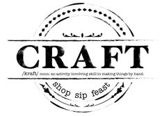 CRAFT marries handmade and vintage goods with curated local sips and bites and homegrown local bands. CRAFT runs from 10 a.m. to 8 p.m. Saturday, October 3, 2015