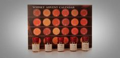 Calendario de Adviento de Whisky http://www.cosasparatios.com/2013/10/12/calendario-de-adviento-de-whisky-2/ #whisky #advent #christmas #navidad