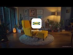 Ikea'S augmented reality app lets people virtually place furniture in their home (via ikea) Video Games For Kids, Kids Videos, Virtual Reality, Small Mason Jars, Large Furniture, Applications, Interior Design Services, Service Design, Houses