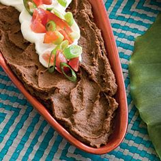 Healthy Appetizer Recipes | Cuban Black Bean Dip | SouthernLiving.com