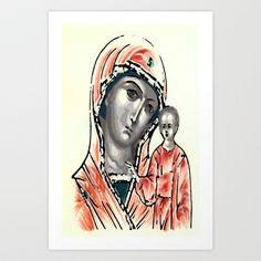 ICONA Art Print by Francesco Mestria -