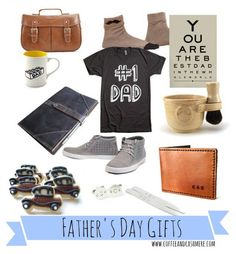 Father's Day gift ideas on Coffee and Cashmere! #fathersday #gifts #coffeeandcashmere