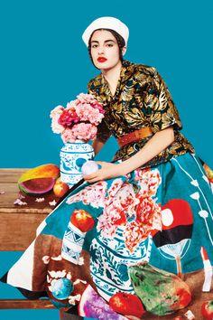 Fall's Bloom: New York Magazine September 2016 by Erik Madigan Heck - Prada Fall 2016