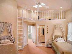Beste afbeeldingen van meisjes slaapkamer in attic