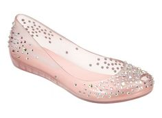 These are swarovski crystals - Pick them up now at Melissa store in Florida - Coral Gables - Lincoln Road - Opening Soon Aventura Mall - Ultragirl + J. Maskrey : Melissa Shoes