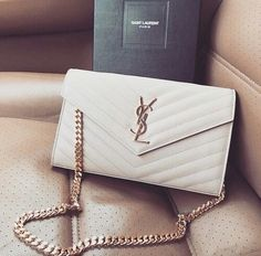 Pinterest: @itskrispyyy // ysl YSL bag white gold detail car girl accessory handbag purse love yves saint laurent yvessaintlaurent