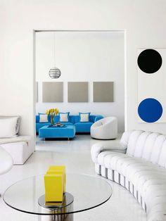 5 ideias de como usar cores na decoração