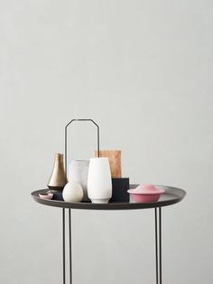 Round Table made of brass | . Find more MODERN SIDE TABLES FOR A SCANDINAVIAN HOME DESIGN http://www.homedesignideas.eu/modern-tables-scandinavian-home-design/