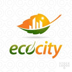 Exclusive Customizable Logo For Sale: Eco City