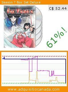Season 7 Box Set Deluxe (DVD). Drop 61%! Current price C$ 52.44, the previous price was C$ 134.93. http://www.adquisitiocanada.com/viz-media/season-7-box-set-deluxe