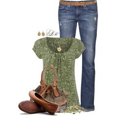 Spring Top, created by tmlstyle on Polyvore