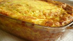 The most tender zucchini casserole - a step-by-step recipe with a photo. Vegetable Dishes, Vegetable Recipes, Kitchen Recipes, Cooking Recipes, Bolet, Food Porn, Zucchini Casserole, Supper Recipes, Russian Recipes