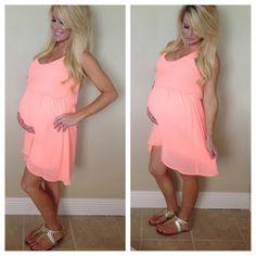 Maternity Outfit. I will most likely be pregnant in the summer again...Damnit lol