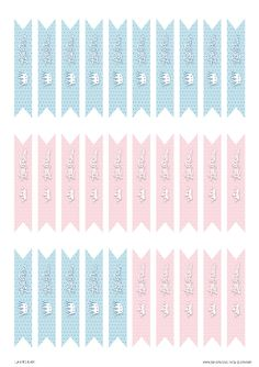 Free Printable Flag Tags Gender Reveal Baby Shower Little Prince Or Princess Click To Get More Fun Ideas And Printables