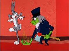 Bugs Bunny with Dr. Jeckyl/Mr. Hyde.  This cartoon actually scared me when I was little.