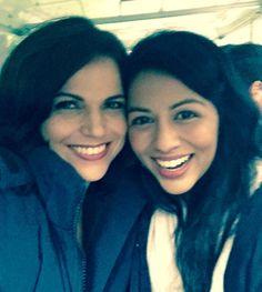 "Lana Parrilla on Twitter: ""Come along on a magic carpet ride w @KarenDavid…"