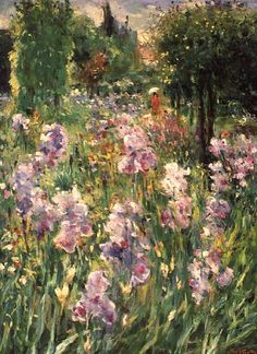 bofransson:    Irises at Giverny - Agostini, Max