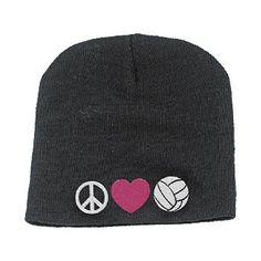 Broder Peace Love Volleyball Beanie