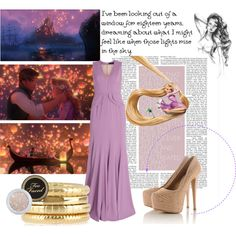 Rapunzel by maraki5 on Polyvore