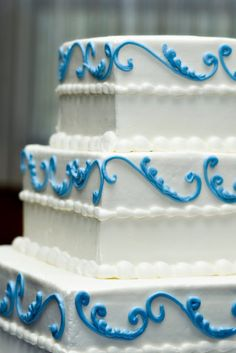 wedding cake | blue