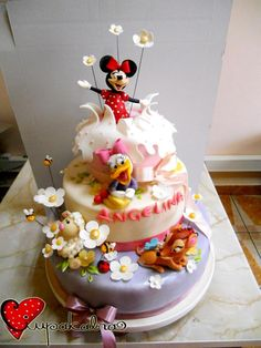 disney cake by ciupakabra