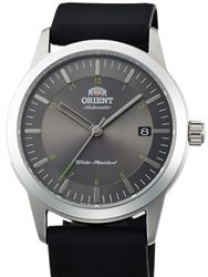 Orient 40.5mm Sentinel Automatic + Hand Wind Watch with Grey Dial #AC05004K