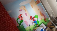 Decoration in a Wall on a Child Bedroom