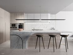 Minimalist Home Interior The Building - Shoreline, Manly Beach. New apartments for sale. Interior Desing, Interior Design Kitchen, New Kitchen, Kitchen Decor, Room Kitchen, Minimalist Home Interior, Cuisines Design, Küchen Design, Modern Kitchen Design