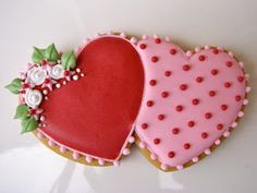 .Oh Sugar Events: Valentine Cookies 2012